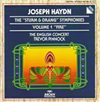 Haydn: 'Sturm & Drang' Symphonies, Vol 1 (Nos 35, 38, 39, 59 'Fire') /English Concert * Pinnock