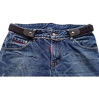 5Afashion Buckle-less no bulge belt for women,buckle-free belts