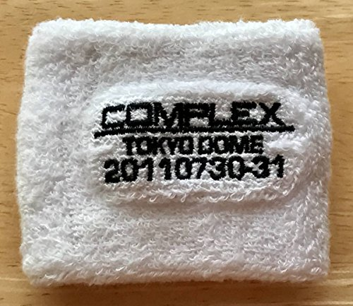 COMPLEX リストバンド 白 日本一心 2011 東京ドーム 吉川晃司 布袋寅泰
