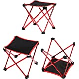 Foccoe 折りたたみチェア アウトドアチェア 組み立て椅子 ウルトラライトチェア アウトドア キュービックチェア キャンプ用 持ち運びに便利 耐荷重100kg