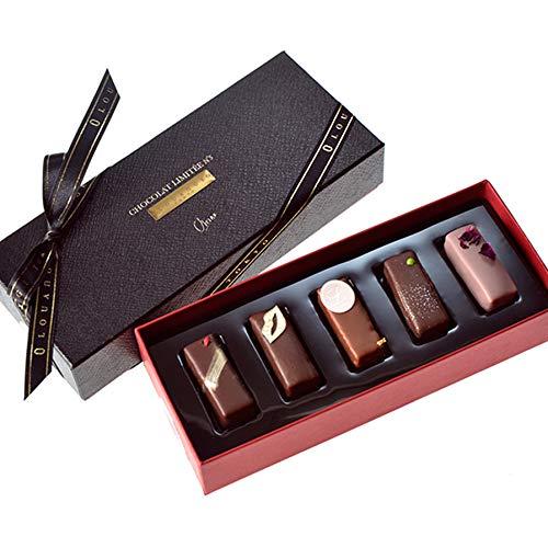 ホワイトデー お返し チョコレート ギフト 人気 スイーツ 高級 【ギモーヴショコラ 5個入り (通常)】 ルワンジュ東京