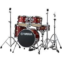 YAMAHA ドラムセット JK6F5CR + HWJK ヤマハ ジュニアキット スタンド類/フットペダル一括セット CRクランベリーレッド