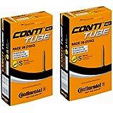2本セット (コンチネンタル) Continental チューブ Race28 700×20-25C (仏式60mm) [並行輸入品]