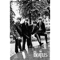 "The Beatles Poseポスター印刷24x 36 24"" x 36"" PSA034218"
