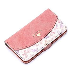 Premium Style iPhone 8/7/6s/6 ケース 手帳型(ミラー/ストラップホール付き) ミニーマウス PG-DFP390MNE