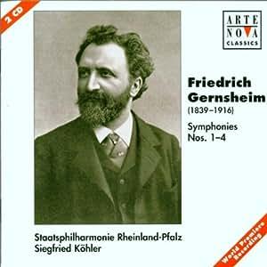 Gernsheim: Symphonies 1