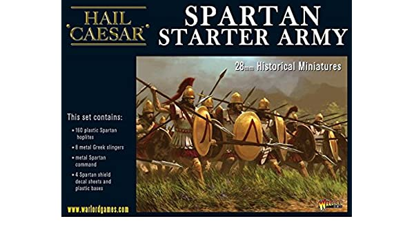 Spartans Starter Army Warlord games