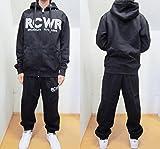 ROCA WEAR(ロカウェア) スウェットセットアップ【並行輸入品】 (L, 黒)
