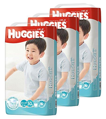 『HUGGIES(ハギーズ) パンツ ビッグ 男の子用 (13~18kg) 50枚x3(150枚)』のトップ画像
