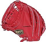 ZETT(ゼット) 野球 軟式 キャッチャーミット デュアルキャッチ 左投用 レッド(6400) RH BRCB34812