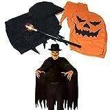 【KUENTAI】 ハロウィン コスプレ かぼちゃ 妖怪 コスチューム 仮装 杖 ステッキ (かぼちゃ)