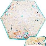 【ディズニー】 Disney ダッフィー ジェラトーニ 折りたたみ傘 マイクロファイバー セーラー 絵の具 香港 HKDL 海外ディズニー限定