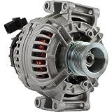 DB Electrical ABO0343 New Alternator for Mercedes Benz C (06-11) CLK (06-09) E (10-11) SLK Class 05 06 07 08 09 10 11 2005 2006 2007 2008 2009 2010 2011 A272-154-00-02 A275-150-00-50 11215N [Floral] [並行輸入品]