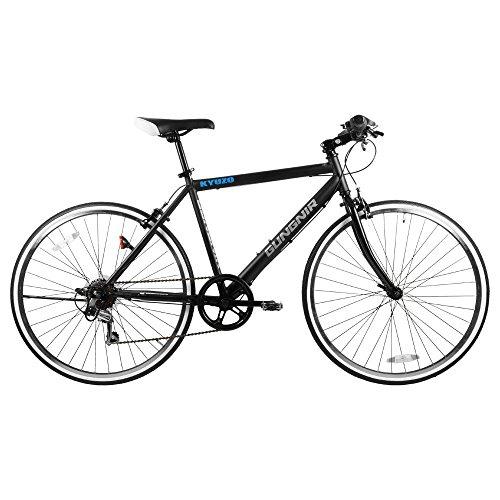 KYUZO クロスバイク自転車 26インチ 外装6段変速付き KZ-107 GUNGNIR B07BT8M8J1 1枚目
