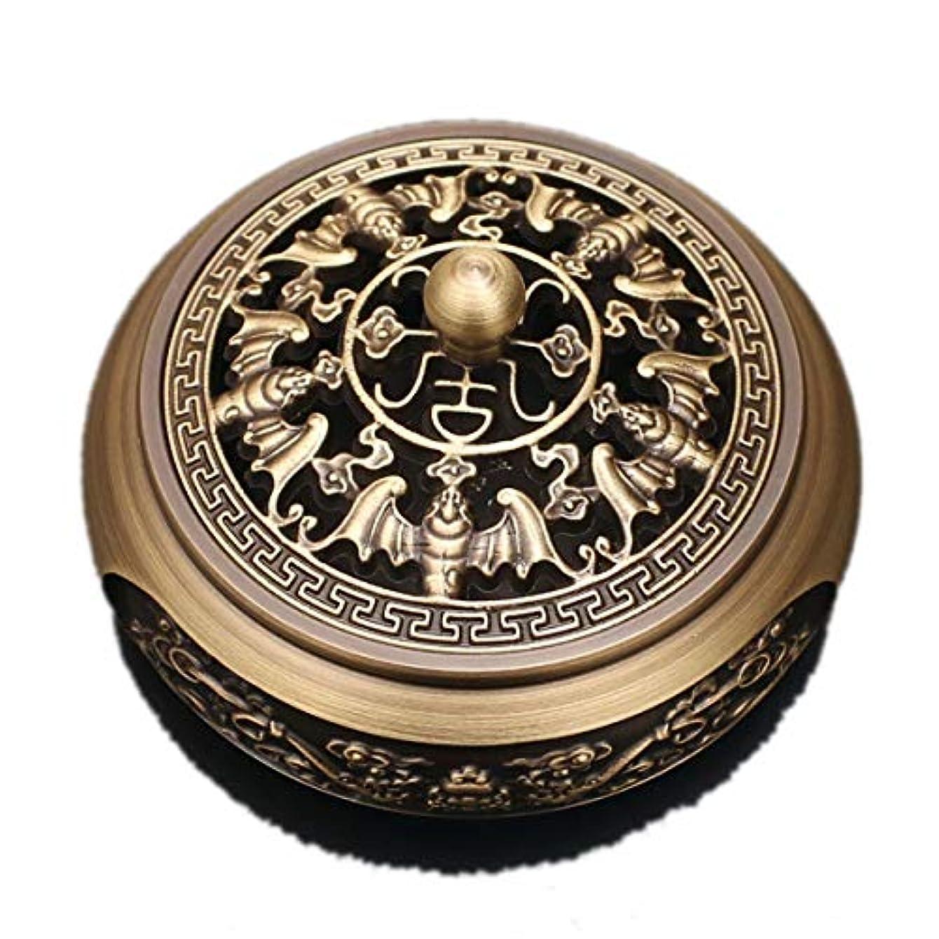 ブランデー無臭計算する銅香炉純銅香炉アンティークレリーフ家庭食器香炉