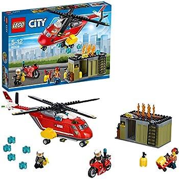 レゴ (LEGO) シティ 消防ヘリコプター 60108