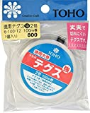 TOHO テグス 太さ約0.23mm×約100m巻 強 2号 スキ 6-100-12