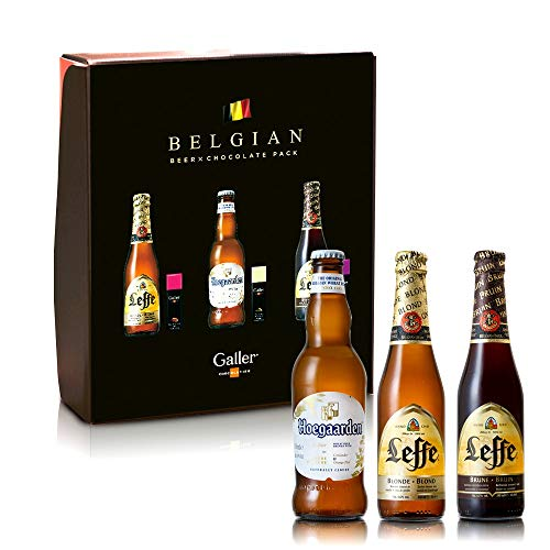 ベルギービール3種×ベルギーチョコレート3種セット 330ml×3本 [ 990ml ] [ギフトBox入り]