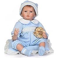 SanyDoll Rebornベビー人形ソフトSilicone 22インチ55 cm磁気Lovely Lifelike Cute Lovely Baby b0763ls7 W2