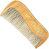 Guomao 玉サンダルウッドの櫛彫りのタッチゴールド理髪櫛 (Size : 12.5*5.5*1.1 cm)