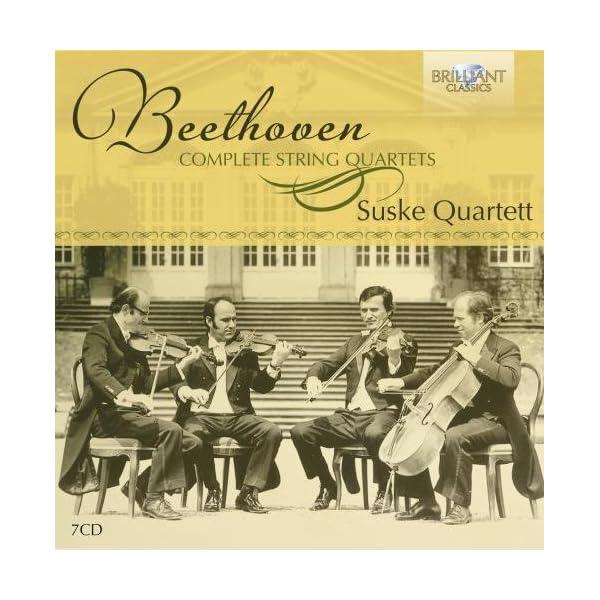 ベートーヴェン:弦楽四重奏曲全集の商品画像