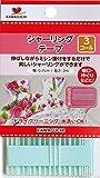 KAWAGUCHI シャーリングテープ エクセル 3コール 幅6mm 長さ2m巻 白 11-410
