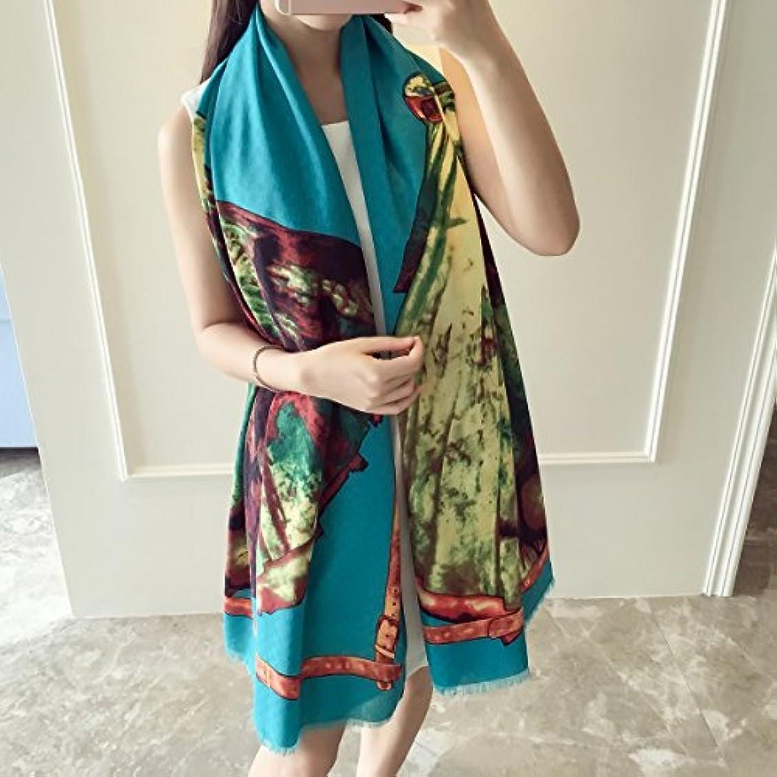 再開パブ儀式レディース?ショール - レディース女性の花の印刷シアーシフォンソフトロングシルクスカーフスカーフシアーラップショール100 * 190CM 家の装飾 ( Color : 1 )