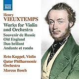 ヴュータン: ヴァイオリンと管弦楽のための作品集