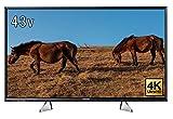 パナソニック 43V型 4K対応 液晶 テレビ VIERA TH-43EX750 HDR対応 SD再生対応