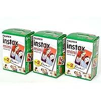 FUJIFILM インスタントカメラ チェキ用フィルム INSTAX MINI WW 2 20枚入り×3パックセット 計60枚