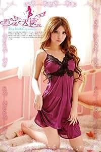 パープル・ナイトドレス sm9033