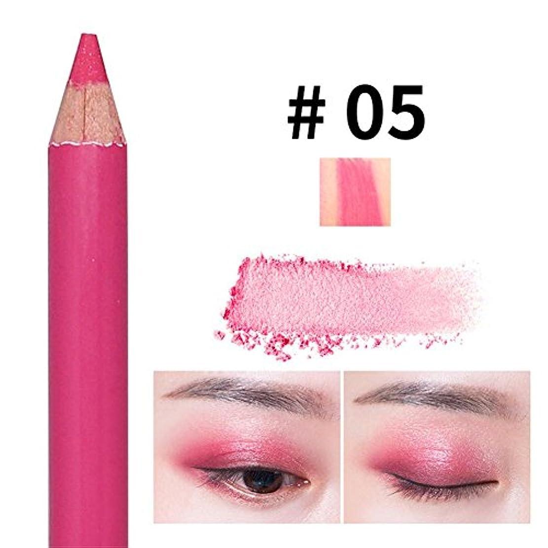 接続されたプロフィールせせらぎアイシャドウペン パールペン ハイライトペン ダブルヘッド 落ちにくい 簡単に色付け 長持ち メイクアップ おしゃれ 防水 ハローメイク メイクアップアイシャドウペン