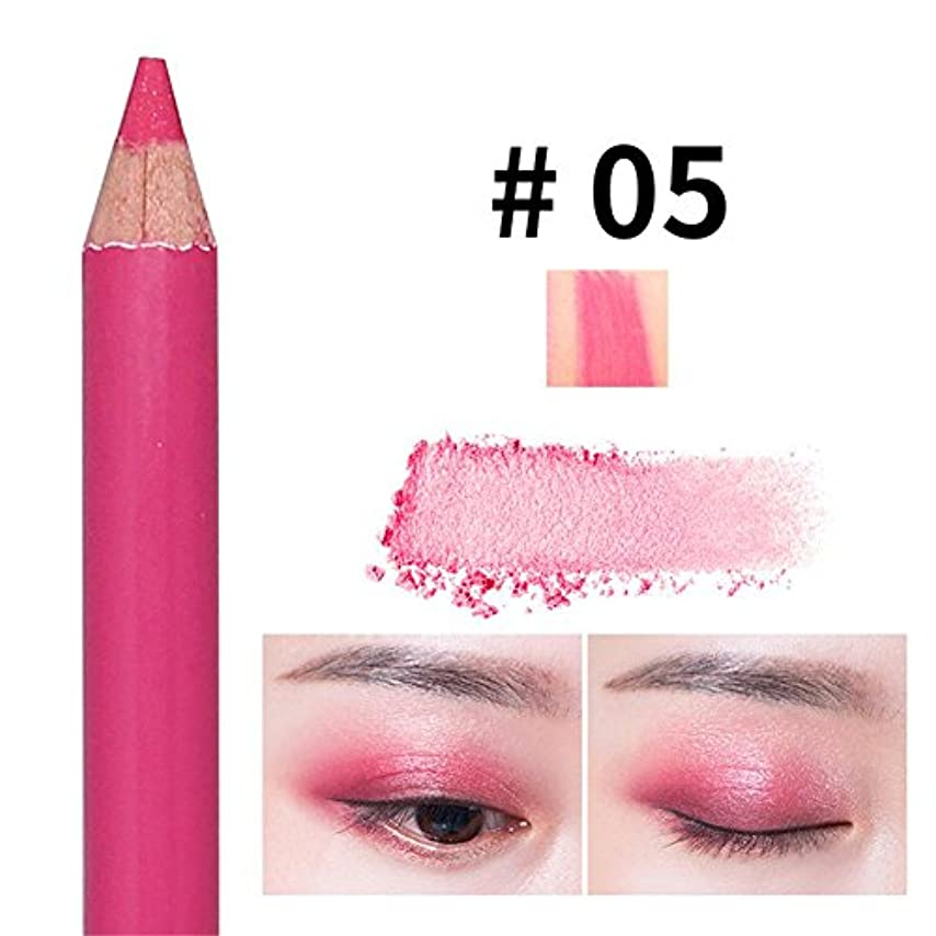 インチ解決する楽観アイシャドウペン パールペン ハイライトペン ダブルヘッド 落ちにくい 簡単に色付け 長持ち メイクアップ おしゃれ 防水 ハローメイク メイクアップアイシャドウペン