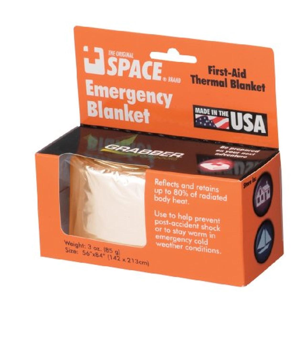 雑種いらいらするヒゲクジラGrabber(グラバー) Space Emergncy Blanket OR 22162