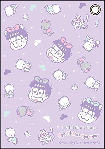 おそ松さん×Sanrio Characters 合皮パスケース 一松×ニャニィニュニェニョン コンテンツシード