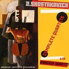 ボロディンSQ演奏 ショスタコーヴィチ弦楽四重奏全集(6CDs)の商品写真