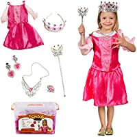 Princess Costume for Girls – プリンセスドレスUpセットwithケース – Costume for Girls by tigerdoe
