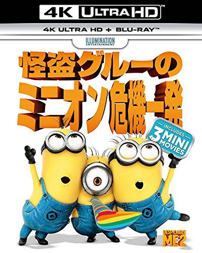 怪盗グルーのミニオン危機一発 (4K ULTRA HD + Blu-rayセット) [4K ULTRA HD + Blu-ray]