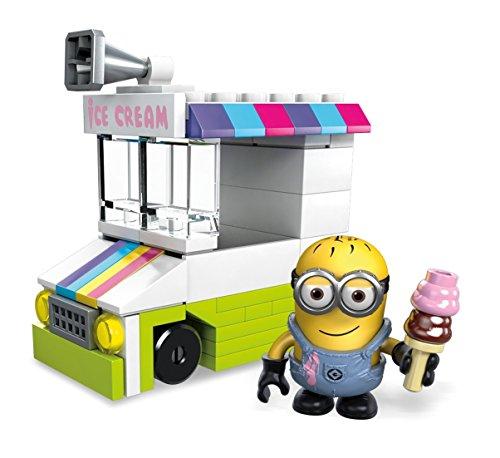 メガコンストラックス ミニオンズ のりもの アイスクリームトラック ミニ