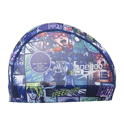 [해외]Speedo (스피드) 수영 모자 메쉬 캡 SD98C10/Speedo (speed) swim cap mesh cap SD98C10