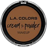 L.A. COLORS Cream To Powder Foundation - Tan (並行輸入品)
