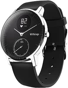 Withings スマートウォッチ Steel HR 36mm ブラック 【日本正規代理店品】 HWA03-Black36-Asia