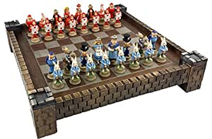 """不思議の国のアリスファンタジーチェスセットwith 171/ 2"""" Castle / Fortressボード"""