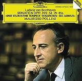 Beethoven: Piano Sonatas Nos 17, 21, 25 & 26 by Ludwig van Beethoven (1989-05-03)