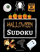Halloween Sudoku: Puzzle Books For Kids And Adults With Instructions, Gifts For Sudoku Lovers
