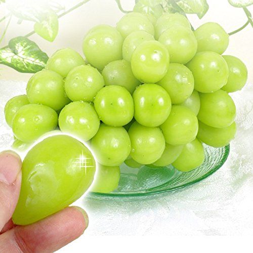国華園 山梨・長野産 シャインマスカット 2房 1kg以上 1箱 高級ぶどう 極甘・種なし・皮ごと食べれる! 傑作ぶどう 葡萄
