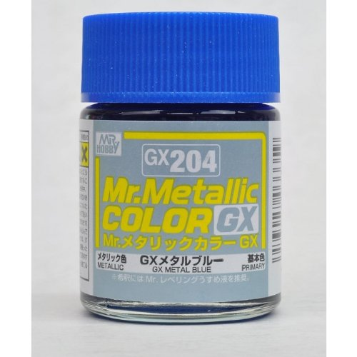 Mr.カラー GX204 GXメタルブルー (18ml) 【HTRC 3】