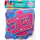 Shimmer and Shine Happy Birthday Banner Party Decorations Celebrattion