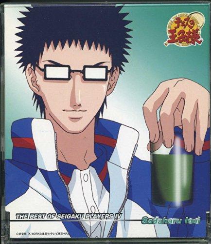 テニスの王子様 キャラクターマキシ4 - THE BEST OF SEIGAKU PLAYERS IV Sadaharu Inui / 乾 貞治(津田健次郎)
