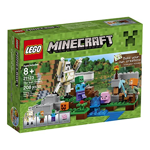 輸入レゴマインクラフト LEGO Minecraft The Iron Go...